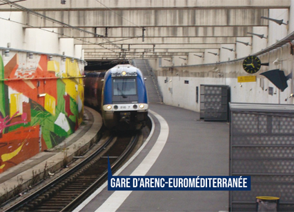 Gare TER d'Arenc